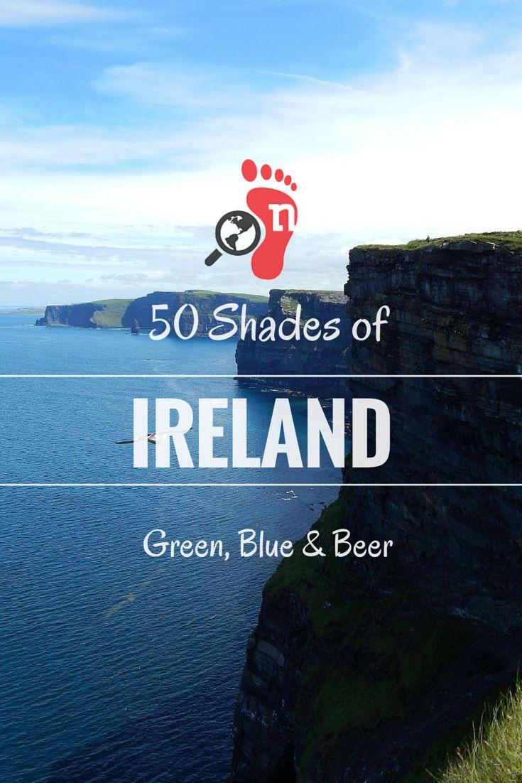 Ireland - 50 Shades of Green, Blue & Beer #Ireland