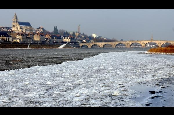 Dimanche glacé en bord de Loire - Diaporama NR