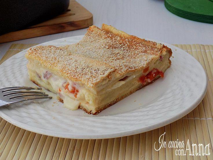 Nel mio blog mancava la torta di pancarrè,peccato che non l'ho fatta prima..è buonissima!!