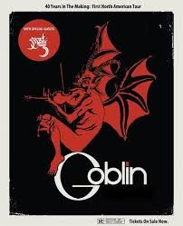 goblin band - Google Search. Claudio Simonetti's Goblin with Golden Teacher. Creators of some of the finest horror soundtracks ever made. At Oran Mor on Thursday 27 February as part of the Glasgow Film Festival 2014.