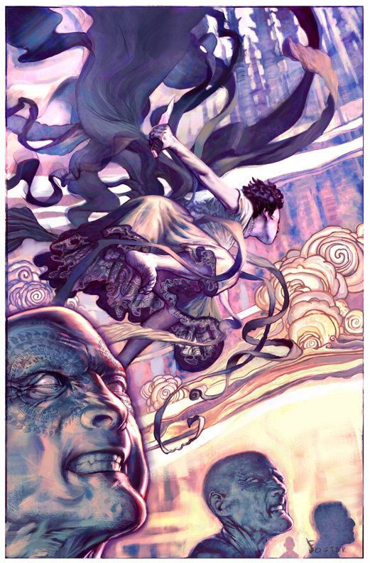 by Jon Foster. Cover art for Mistborn: The Final Empire by Brandon Sanderson.