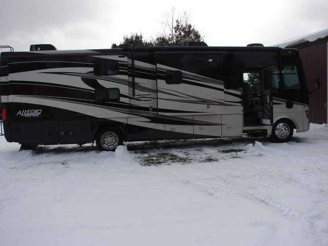 2011 Used Tiffin Motorhomes Allegro Open Road 35QBA Class A in New York NY.Recreational Vehicle, rv, 2011 Tiffin Motorhomes Allegro Open Road 35QBA, Three TV with surround sound, central vac, cherry cabinetry, 15000 heat pump and 13500 AC, 5.5 kw onan generator, DVD players with wireless headphones in bunks, two fantastic fans with exterior covers, electric step and awning, 50 amp service and other common amenities for a rig of this type. We have always stored this inside and can provide…