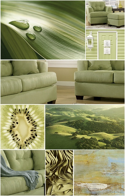 green color collage by ashley furniture homestore