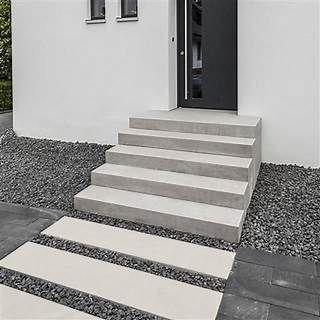 Stunning BETOLINE Blockstufe Stufen und Treppen f r Garten und Terrasse Treppenelemente Blockstufen Radienstein