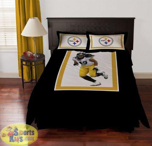 steelers bedroom. Pittsburgh Steelers Troy Polamalu Comforter Set 54 best Bedroom Decor images on Pinterest