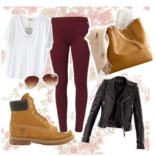 """""""timberlands"""" by kyra-boo on Polyvore"""