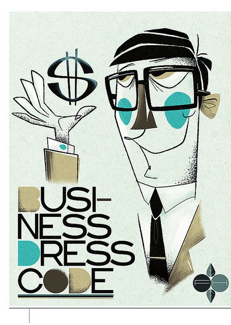 'Business Dress Code' By Fantastic Hysteria