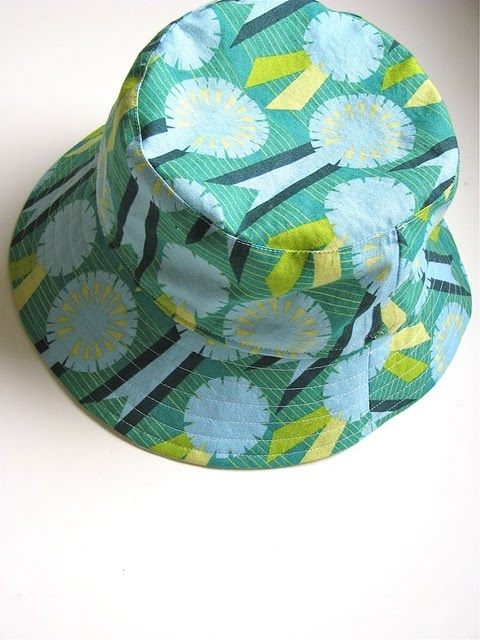 bucket hat tutorial (and other great patterns)
