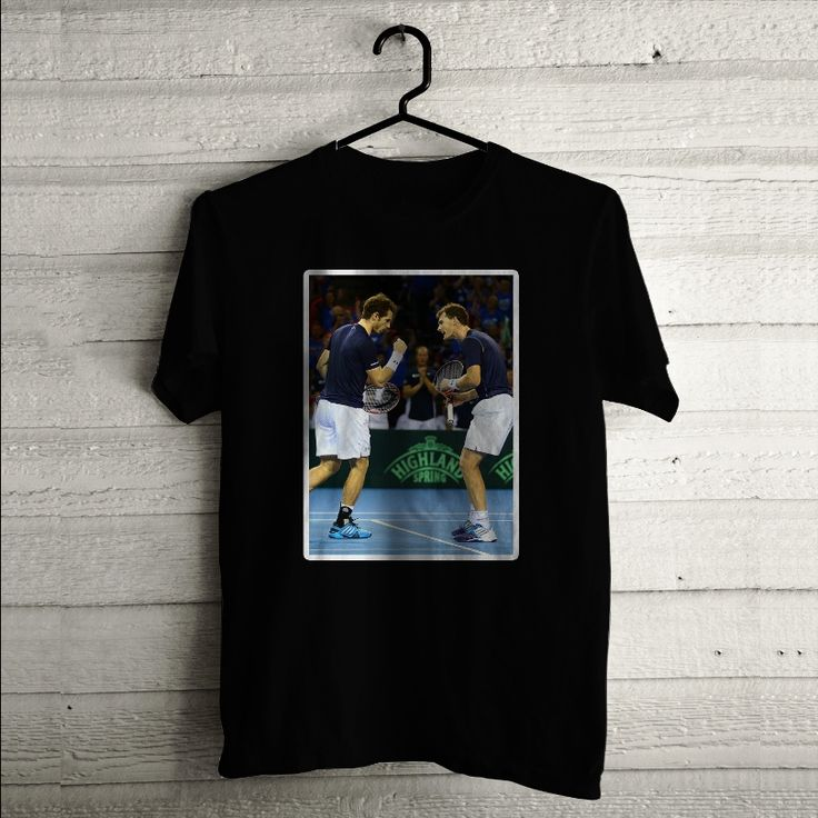 Andy and Jamie Murray Custom T-shirt | Men T-shirt | Woman T-shirt | Tank Top | Shirts