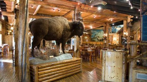 The Gun Barrel in Jackson Hole, Wyoming was ranked as one of America's best restaurants for meat eaters by Fox News. It's a highlight for travelers and a locals favorite!
