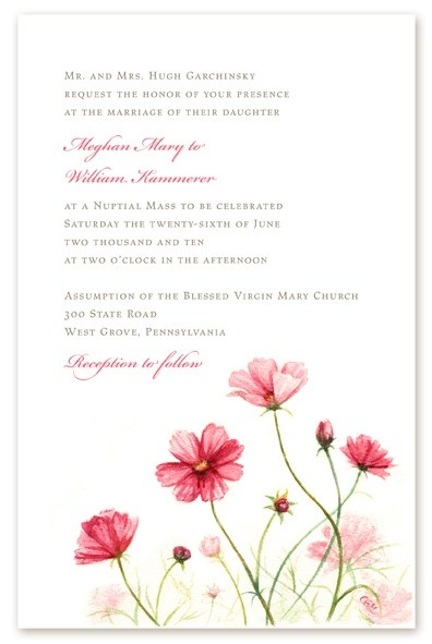Valentine ideas: Frame your wedding invitation and reply cards (card design by  @Kate Garchinsky)