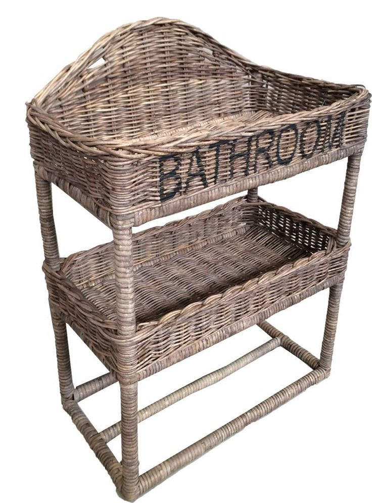Sweet Living Groot Rieten Badkamerrek - Bathroom