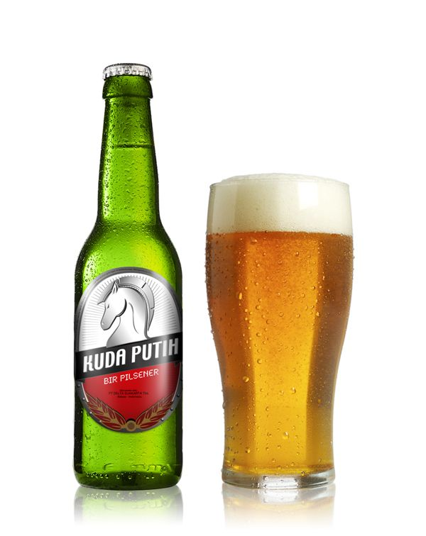 Kuda Putih - Beer by Yusak Prahadi, via Behance
