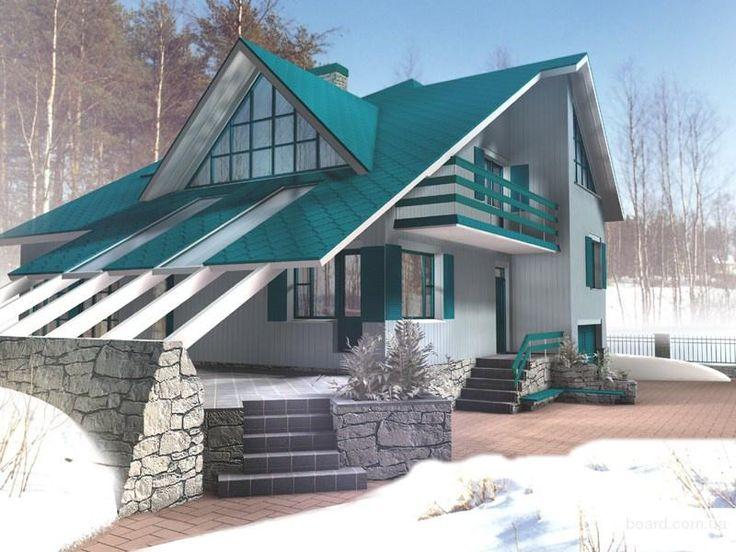 красивые фасады частных домов - Внешняя отделка - Интересные фотографии - Ваш домик