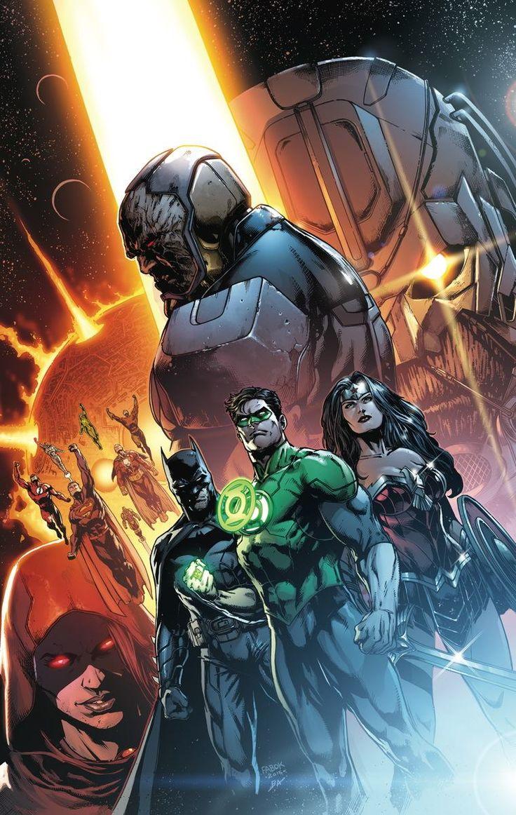Justice League #41 by Jason Fabok *