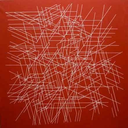 Pablo Palazuelo, Minos II en Galería la Aurora, 1997