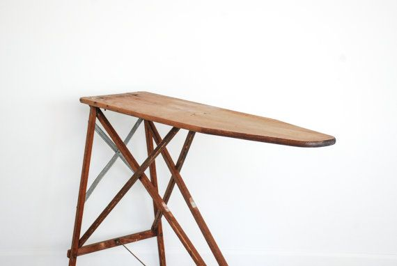 Hey, I found this really awesome Etsy listing at https://www.etsy.com/listing/189796301/ironing-board-iron-board-wood-ironing