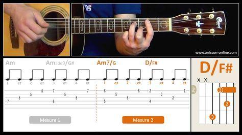 Stairway to Heaven - Led Zeppelin Apprendre à jouer ce morceau à la guitare. Plus de vidéos sur www.unisson-online.com