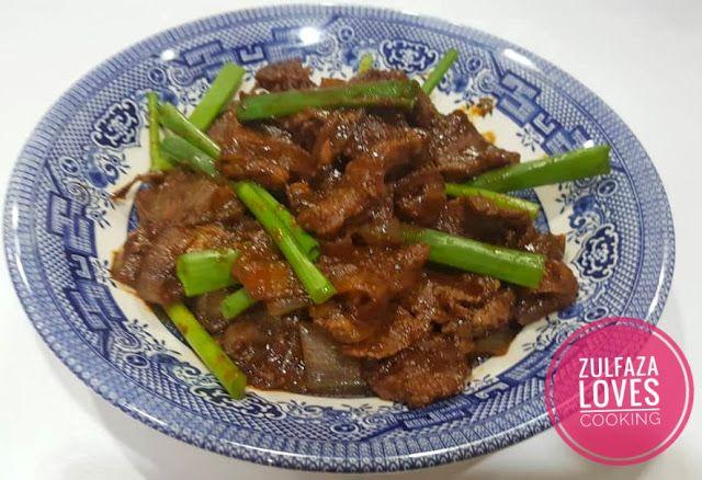 Zulfaza Loves Cooking Beef Bulgogi Bulgogi Makanan Masakan