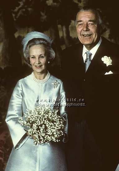 Lillian Davis married Swedish Prince Bertil, Duke of Halland in 1976.
