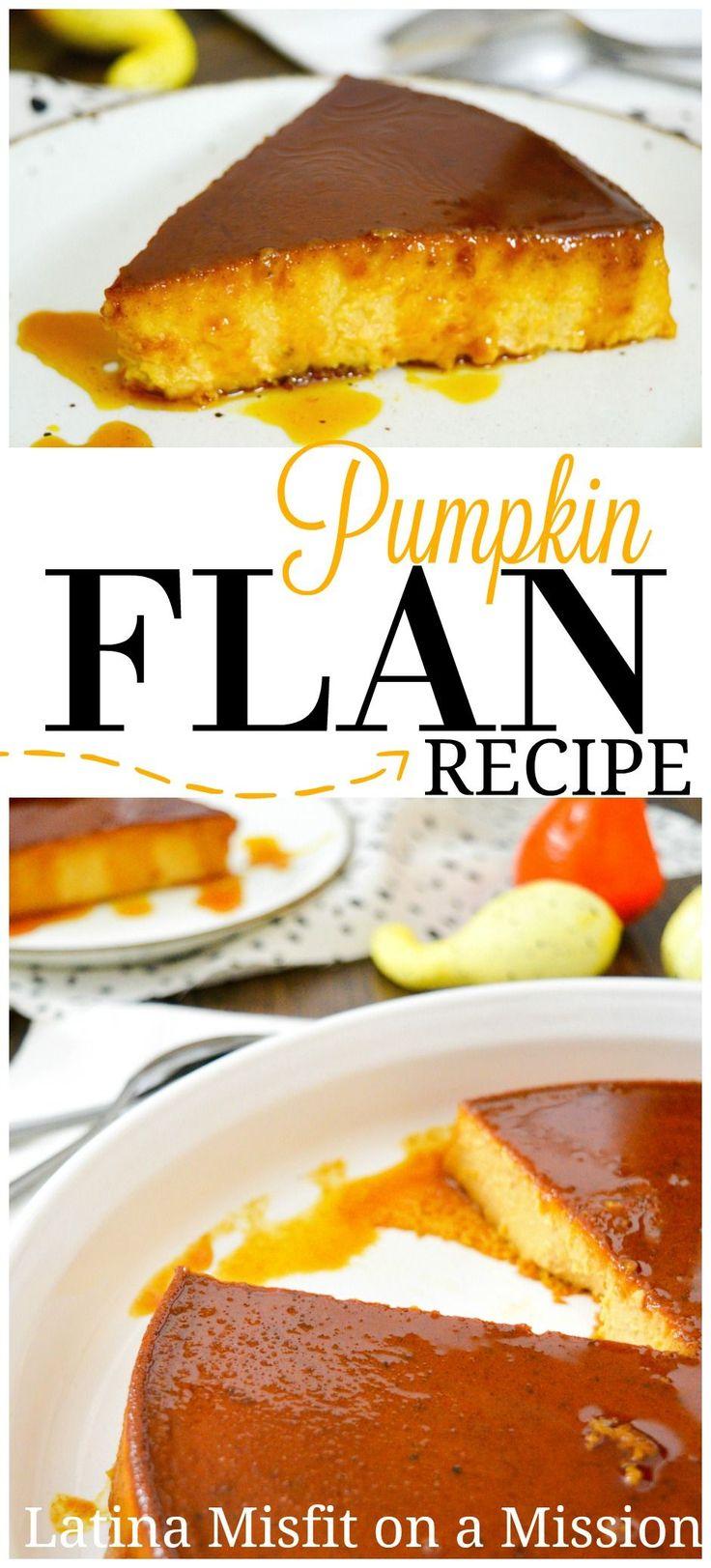 How to make cream cheese pumpkin flan