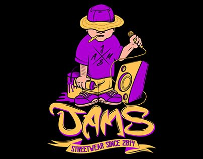 """Check out new work on my @Behance portfolio: """"Ilustración digital / Jams Streetwear"""" http://be.net/gallery/48837841/Ilustracion-digital-Jams-Streetwear"""