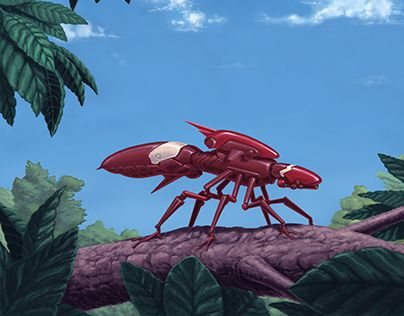 """Check out new work on my @Behance portfolio: """"Active Insectron"""" http://be.net/gallery/51707301/Active-Insectron"""