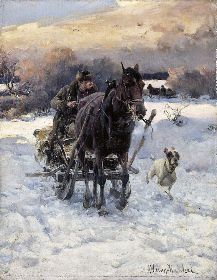 alfred von wierusz kowalski painting - Google Search