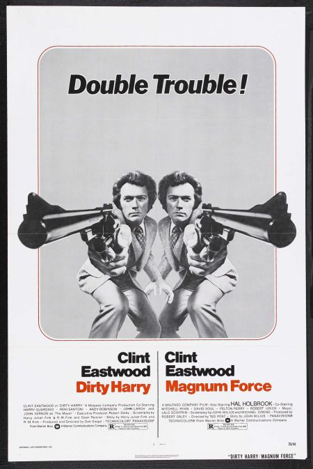 Original one sheet poster  - great Eastwood images