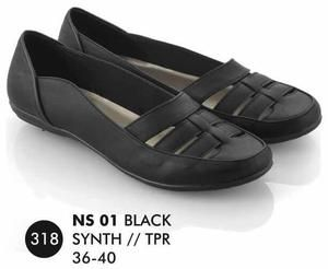 Sepatu Flat Wanita Casual Trendy [NS 01] (Brand Everflow) Free Ongkir