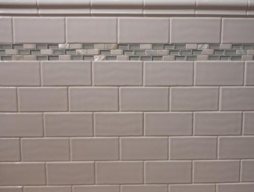 17 best images about bathroom tile on pinterest blue White border tiles bathrooms