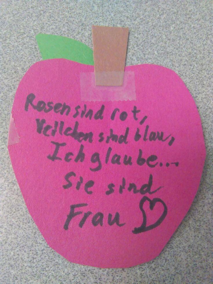 Valentinskarte Für Meine Deutsch Leherin 2/2