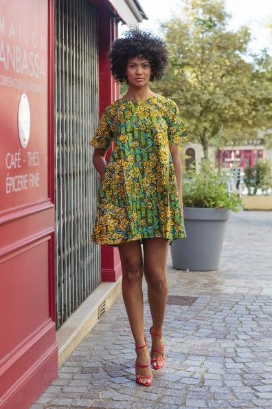 6310399e81a8d Robe Akiba   African Prints Inspired Clothing   Pinterest