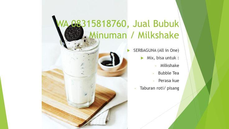 Pin Di Wa 08315818760 Bubuk Minuman Di Bali