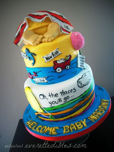 Dr Seuss Baby Shower Cake Baby Bum   Flickr - Photo Sharing!
