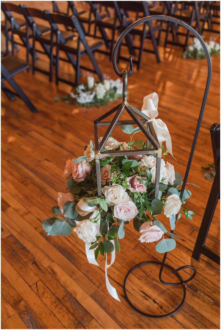 Flower Shepherd Hook Wedding Aisle l Samantha Malizia