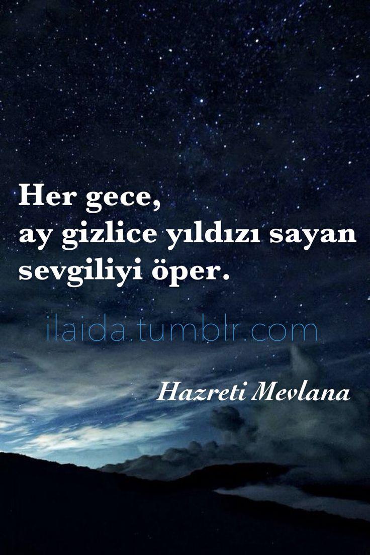 Hazreti Mevlana Rumi Turkish quote