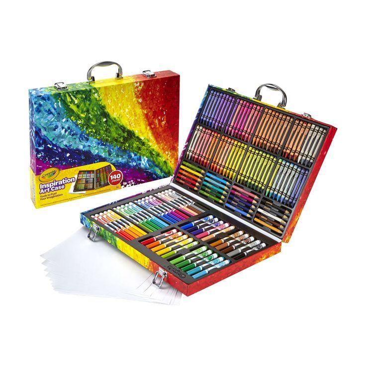 26++ Crayola inspiration art case kmart ideas