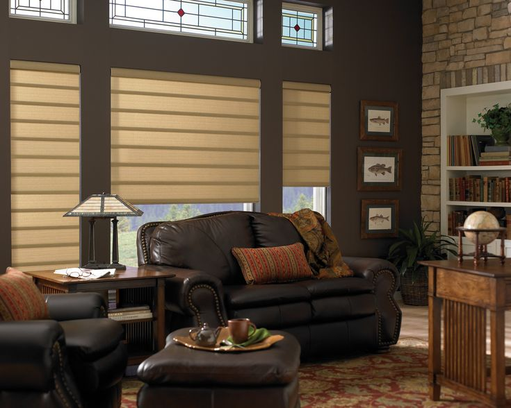 contemporary blinds and shades | ... Vignette Modern Roman Fabric Shades — Atlanta Blind and Shade