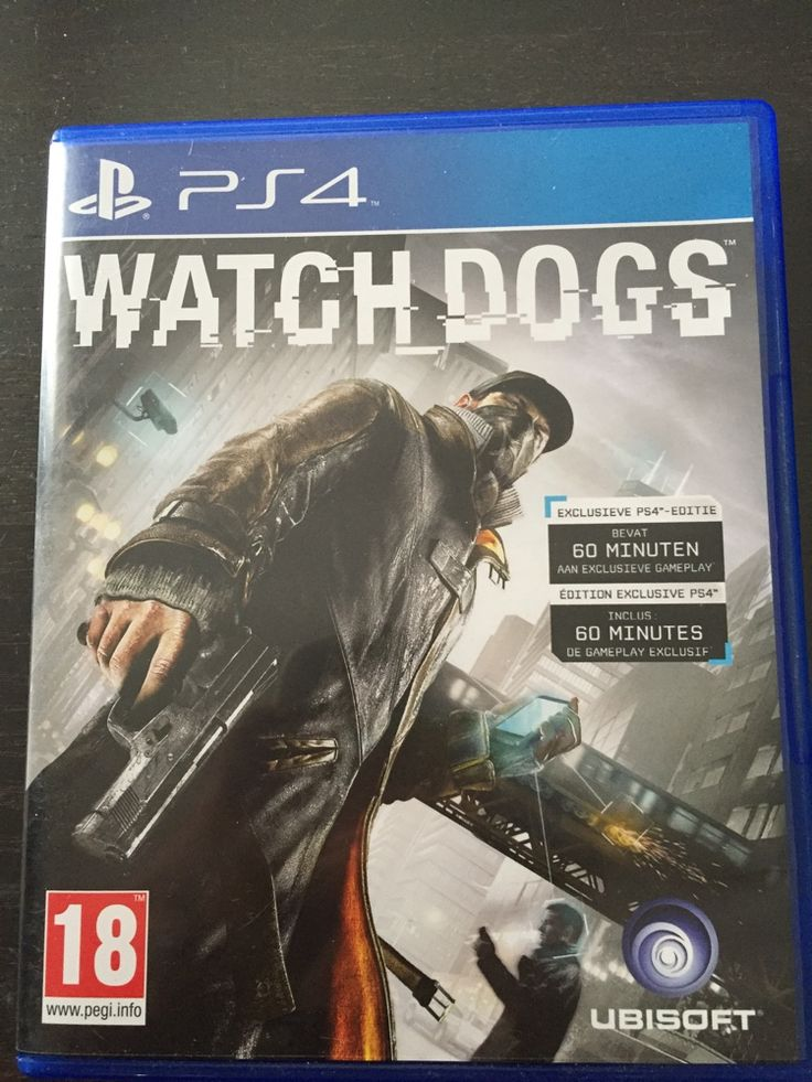 Ps 4 game #watchdogs #ps4 #jeu #console