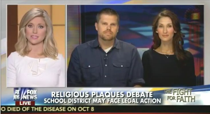 Advocating for a tyranny of the majority, a Fox News host tells atheists that Jesus belongs in public schools because Christianity is part of Southern culture.