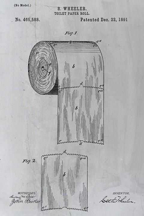 """The patent for toilet paper should settle the over vs under debate"""