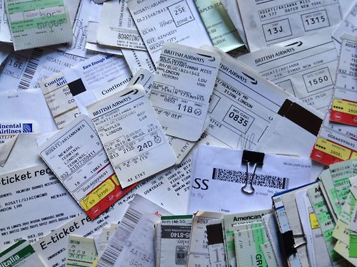 STASH: A decade of boarding passes via Pavia. FathomAway.com #Travel #Fathom