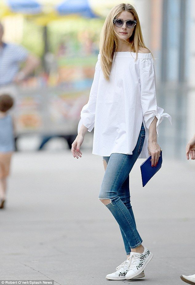 1637 best images about White top and jeans on Pinterest ...