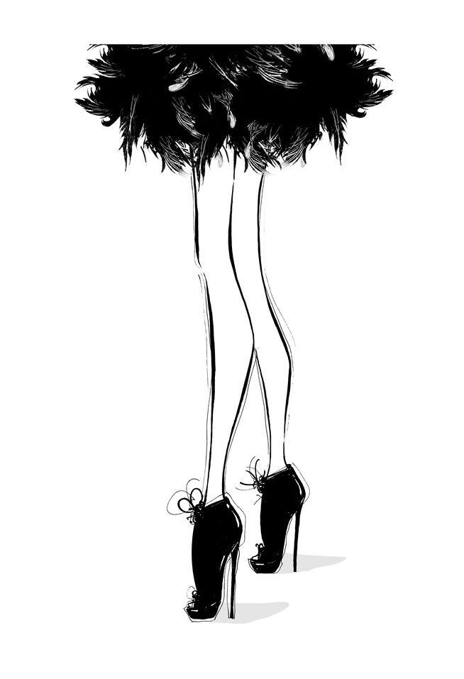 Las ilustraciones de Megan HessMUNDOFLANEUR | MUNDOFLANEUR