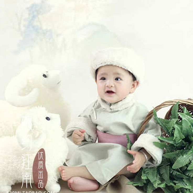 >> Click to Buy << Mu Yang Feeding Sheeps Minority Group Mongolian Kids Costume Little Boy Birthday Photo Costume 90cmH #Affiliate