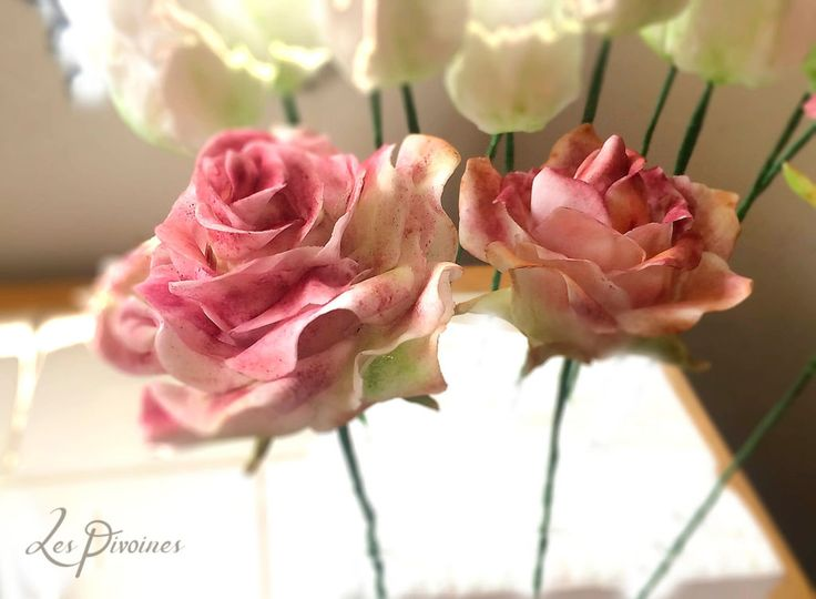 flori de zahar pentru tort