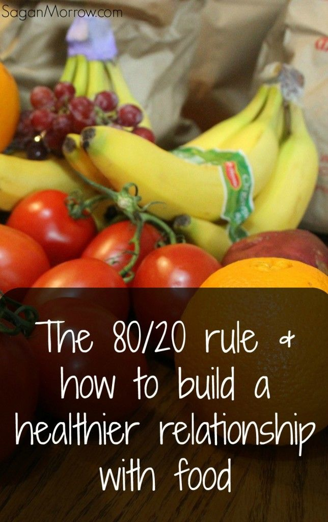 What the 80/20 food rule means, and how to build a healthier relationship to food (because food is NOT the enemy!)