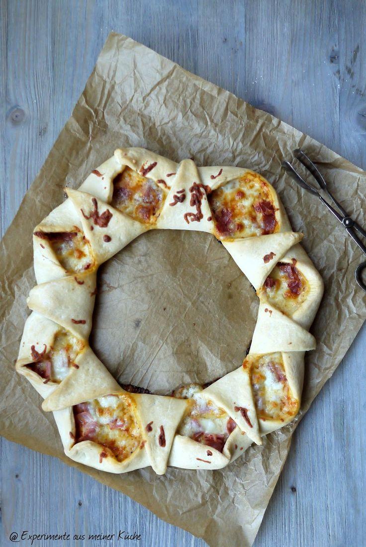 Experimente aus meiner Küche: Pizzaring