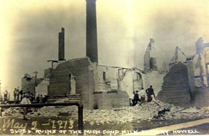 Condensed Milk Factory ruins - 1913.
